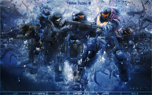 Halo Reach - Team Noble by Gekko3309
