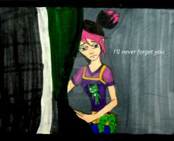 I'll Never Forget You by InkArtWriter