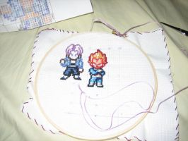 Cross-stitch of Doomness... by SSJPrincess05