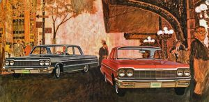 After the age of chrome and fins : 1964 Chevrolet by Peterhoff3
