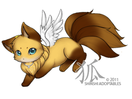 chibiwolf1005 : Anxo by ShinshiAdoptables