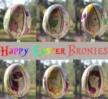 A Brony Easter by DracoWolf0-0