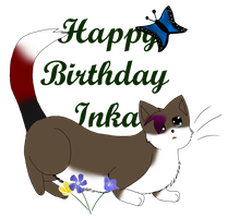 Happy -early- B-day Inky by sky-lover10