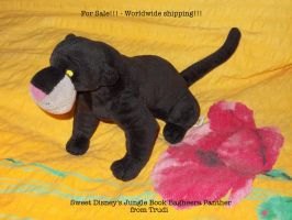Bagheera from Jungle Book - SOLD :) by MoondragonEismond