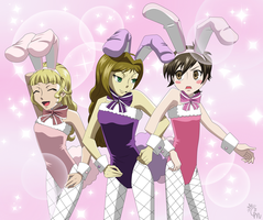 OHSHC: Ouran Bunnies by Hieis-Wolf-Girl
