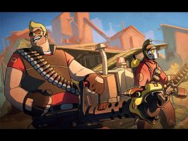 TF2 - PUSHIN THE CART by NIELSPETERDEJONG