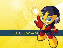 Elecman's Wallaper by kingmanbr