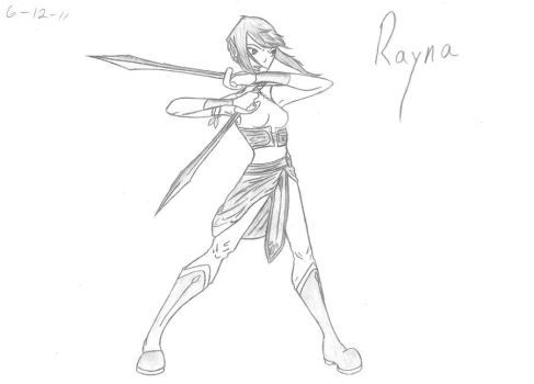 Rayna by WhiteWing1