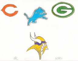 The NFL Project - NFC North by J-Mac09