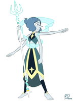 Lapis x Pearl Fusion by richdogan
