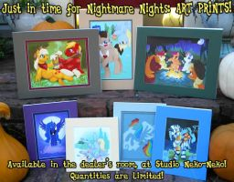 Art Prints for Nightmare Nights by StudioNeko