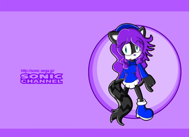 Contest Entry: Sadie the Raccoon (Sonic Channel) by Dokizoid