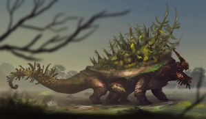 evergreen giant by unded