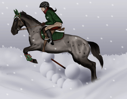 Oden: Snow Jumping at Lakewoods Winter Snow Show by Moshpikachu