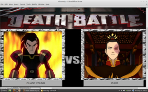 Chase Young vs Zuko by samvadar