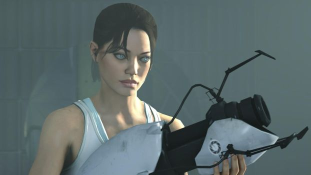 Just Chell by Madman5333
