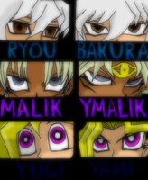 Eyes of Yugioh by Marik-fan