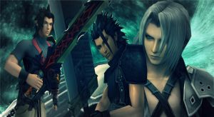 Terra and Zack vs Sephiroth by Hatredboy