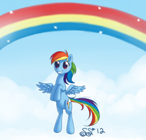 Happy Rainbows by Alipes