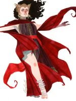 Scarlet Witch - Redesign by kevinwada