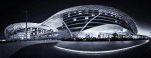 Yas Marina BW by almiller
