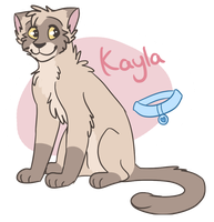 Kayla ref by Spriingy
