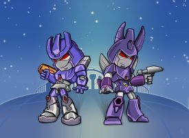 Comm: Galvatron and Cyclononus by The-Starhorse