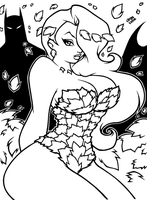 Pretty   POISON IVY   Inks by AnyaUribe