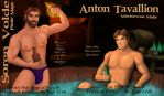 Soren Volde/Anton Tavallion - May/June 2015 Combo by RakaelTowers
