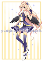 Angel Adoptable [SOLD] by Purichie