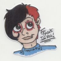 Frank Iero by THEsquiddybum