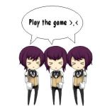 The Triplets say PLAY THE GAME by kakasasusaku