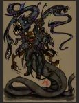 The Thing alien design 2 COLOR by Thevakien