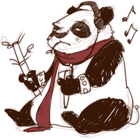 PHUNKY PANDA by AgentDax