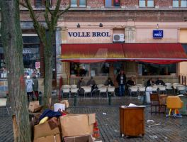 Cafe at Vossenplein by PhotographybyGhost