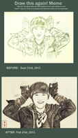 draw this again: onew. by byshirayuki