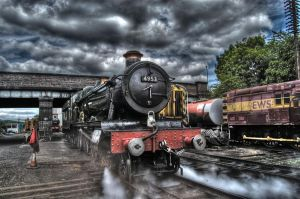 Steam Blast HDR by nat1874