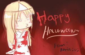 Happy Halloween by rrrrrorie
