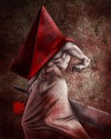 Red Pyramid -Yep Silent Hill fanart time by Destinyfall