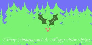Christmas Wallpaper by Drizzle-The-Glaceon