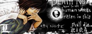 Death Note - L sig by lDBCl