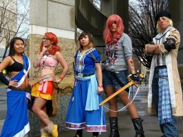 Final Fantasy 13 Group by RaindropCosplay
