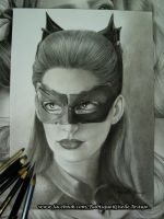 Catwoman, Selina Kyle - Anne Hathaway by GiselleAFerreira