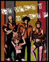 Cowboy Bebop by PaperPillow