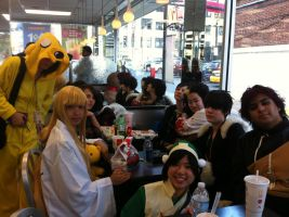 NYCC 2011: My Awesome Group by SweeneyT-DemonBarber