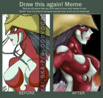 Meme  Before And After by Bloo-DKai12