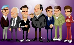 The Sopranos. by WALHH