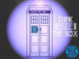 TARDIS Wallpaper 3 in a series by Carthoris