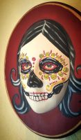 bella muerte face plaque by Cyanidenight