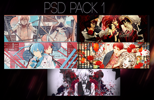Psd Pack 1 by xxxKira